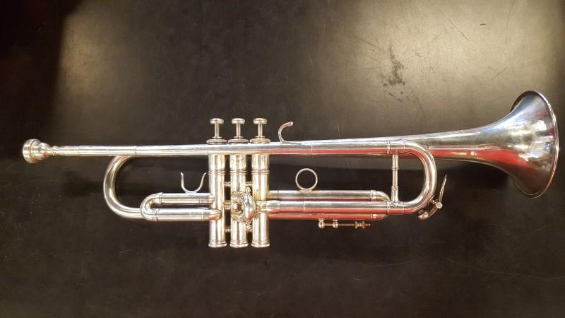 BENGE Trumpet/Cornet RESNO-TEMPERED BELL STERLING SILVER
