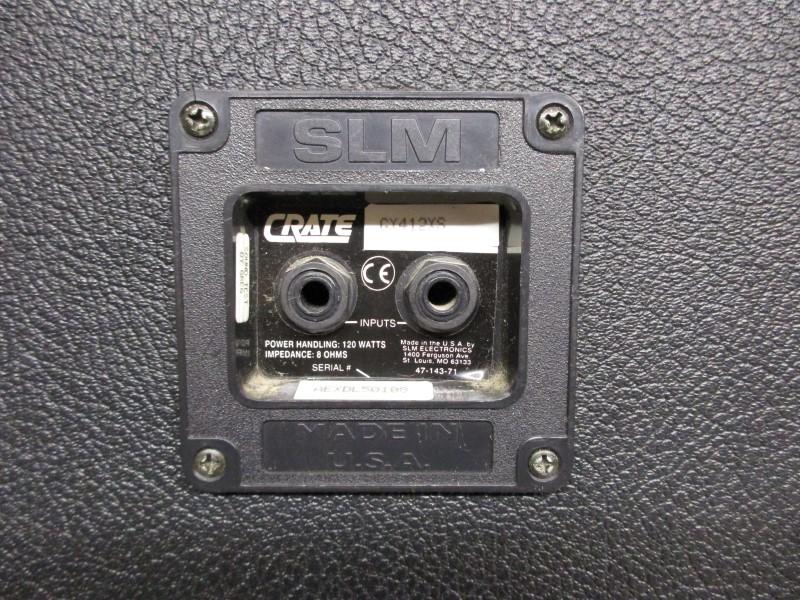 CRATE GX412XS 4X12 SLANT SPEAKER CABINET