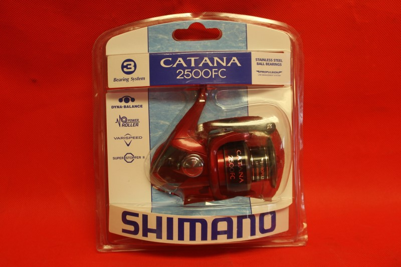 Shimano Catana 2500FC 3 Bearing Baitcasting Fishing Reel *NEW