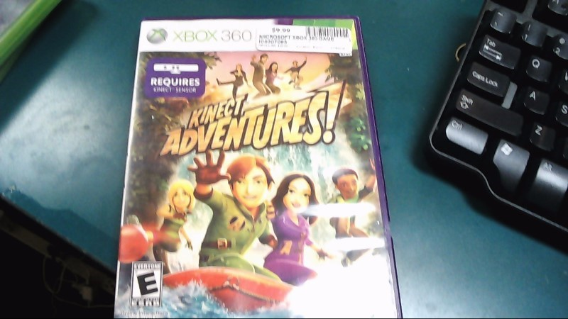 MICROSOFT Microsoft XBOX 360 Game KINECT ADVENTURES - XBOX 360