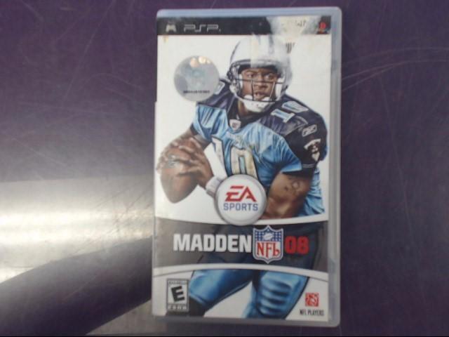 Sony PSP Game MADDEN NFL 2008
