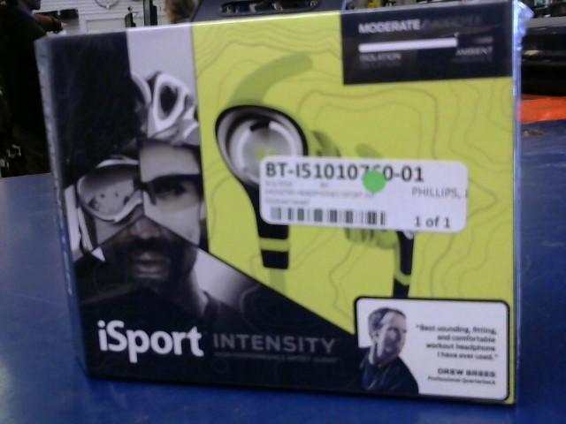 MONSTER Headphones ISPORT INTENSITY