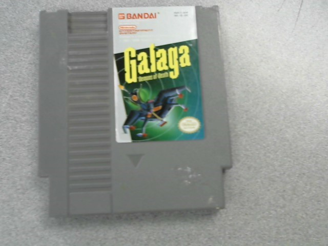 NINTENDO Nintendo NES Game GALAGA DEMONS OF DEATH