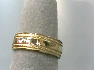 Lady's Gold Wedding Band 14K Yellow Gold 2.3dwt Size:6.5