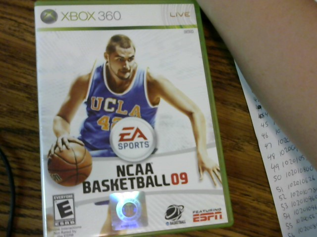 NCAA Basketball 2009 Xbox 360