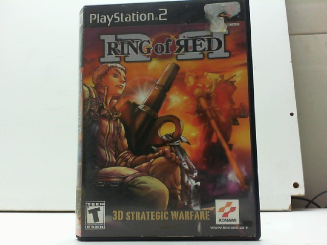SONY Sony PlayStation 2 Game RING OF RED