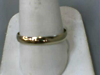 Gent's Gold Wedding Band 14K Yellow Gold 1.2dwt