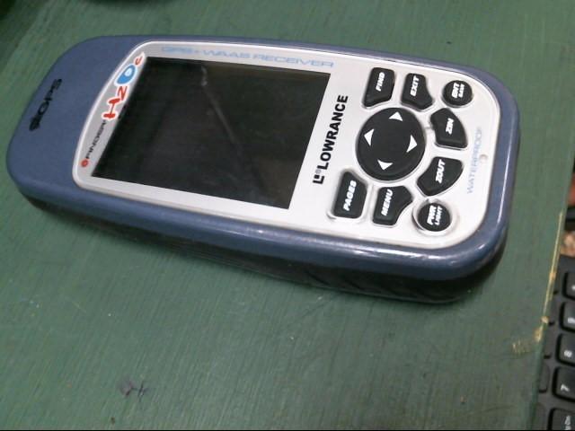 LOWRANCE GPS System I FINDER H2O