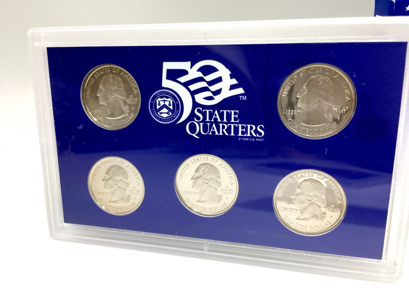 2005 United States Mint Proof Set - 11 Coins - With Box & COA