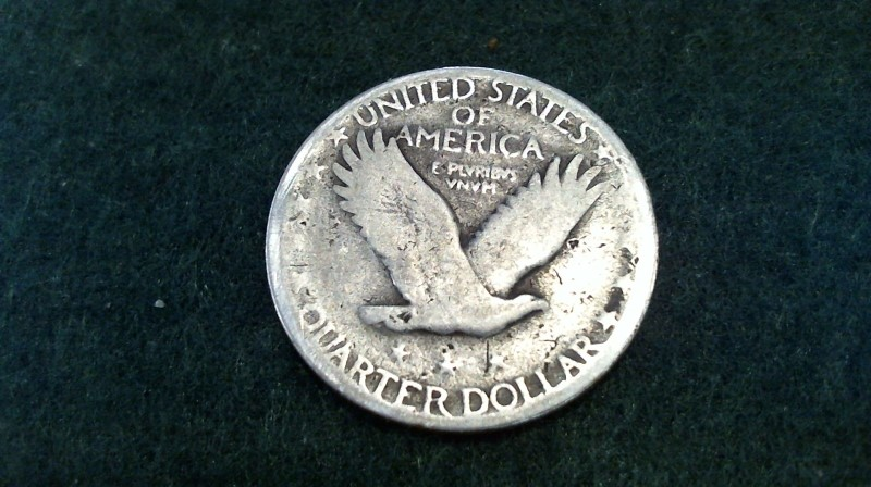 UNITED STATES Silver Coin STANDING LIBERTY SILVER QUARTER DOLLAR 1920-1928