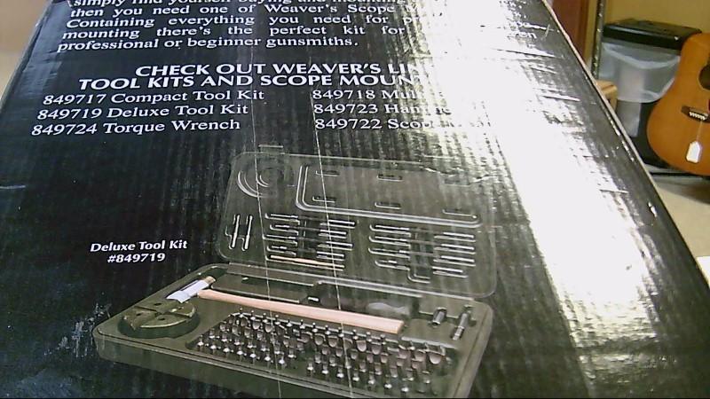 Weaver Deluxe Scope Mounting Kit 849721
