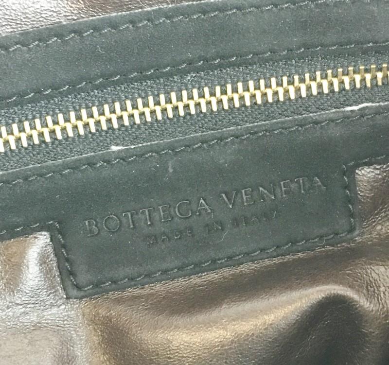 BOTTEGA VENETA SUEDE WOVEN HOBO SHOULDER BAG