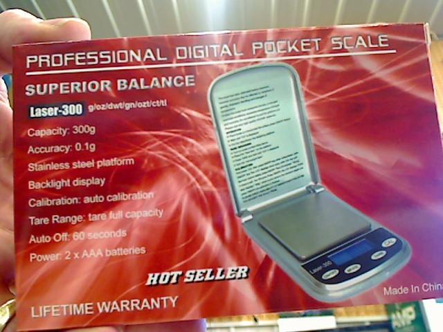 SUPERIOR BALANCE Scale LASER-300