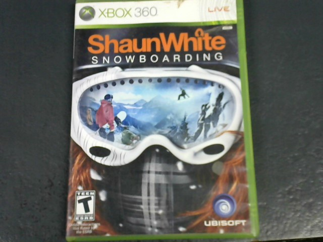 MICROSOFT Microsoft XBOX 360 Game SHAUN WHITE SKATEBOARDING