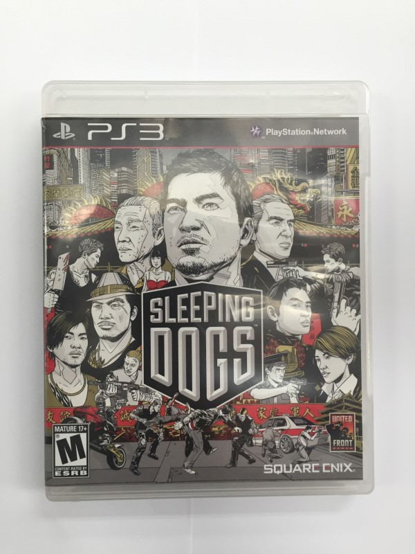 SONY PLAYSTATION 3 SLEEPING DOGS PS3