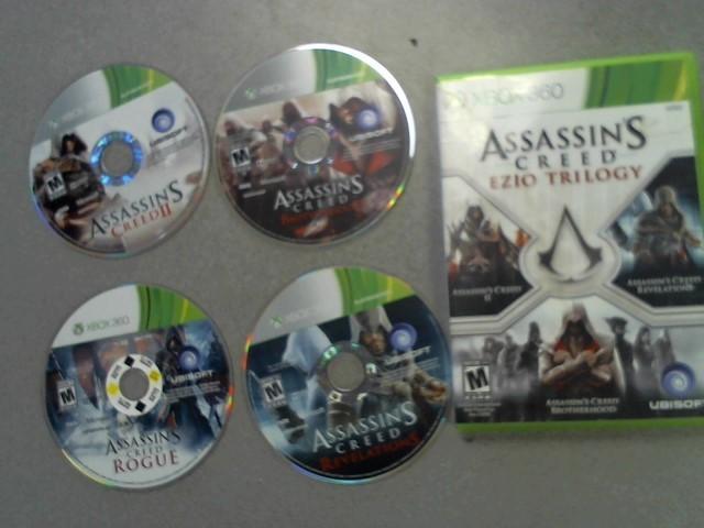 MICROSOFT Microsoft XBOX 360 Game ASSASSIN'S CREED EZIO TRILOGY