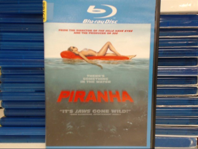 BLU-RAY MOVIE Blu-Ray PIRANHA