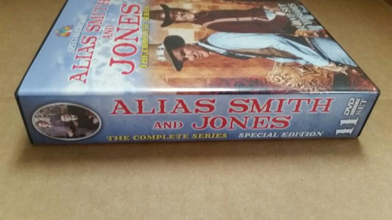 DVD BOX SET ALIAS SMITH AND JONES THE COMPLETE SEASON