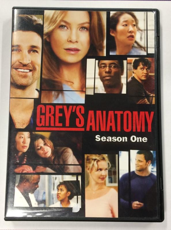 DVD BOX SET GREY'S ANATOMY SEASON ONE