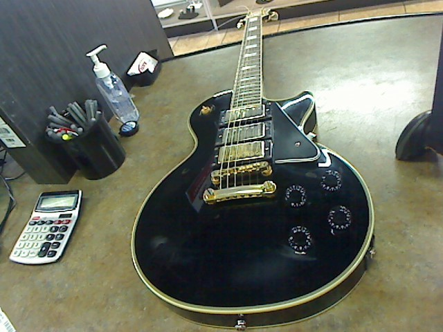 EPIPHONE Electric Guitar LES PAUL BLACK BEAUTY