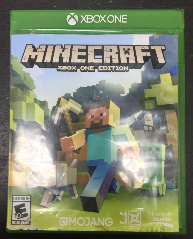 MICROSOFT Microsoft XBOX One Game MINECRAFT - XBOX ONE