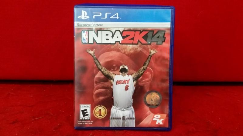 NBA 2K14 (Sony PlayStation 4, 2013)