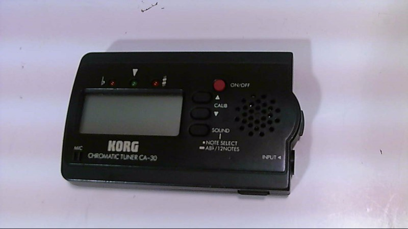 Korg Chromatic Tuner CA-30 Portable Digital Tuner Guitar Multiple Instruments