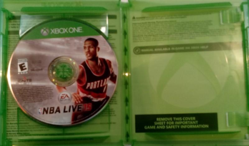 Microsoft Xbox One Nba Live 15 Ea Sports