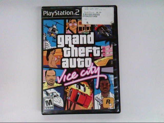 SONY PS2 GRAND THEFT AUTO VICE CITY