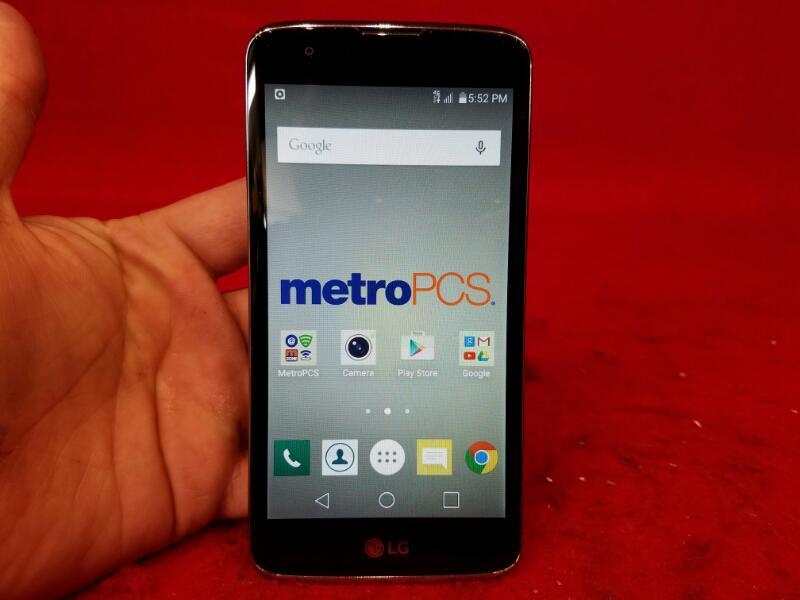 LG K7 (MS330) Silver 8GB (MetroPCS) Smartphone