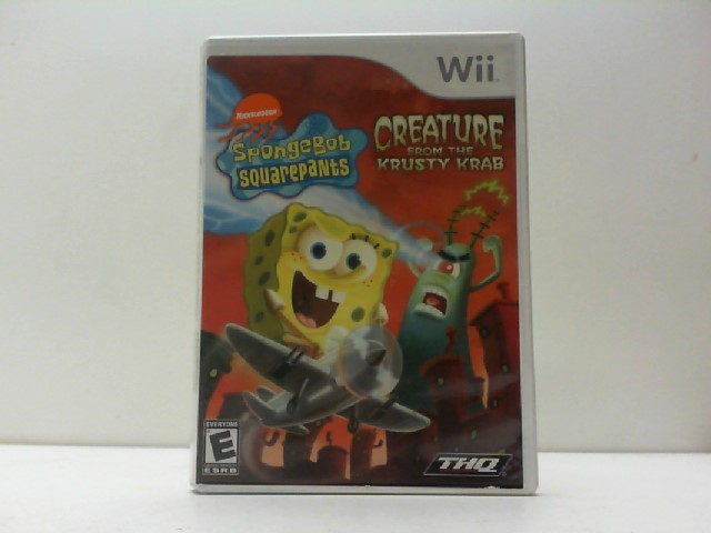 NINTENDO Nintendo DS Game SPONGEBOB SQUAREPANTS CREATURE FROMTHE KRUSTY KRAB