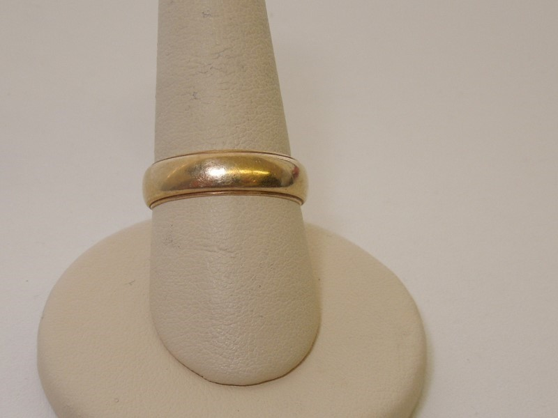 Gent's Gold Wedding Band 14K Yellow Gold 4.6g