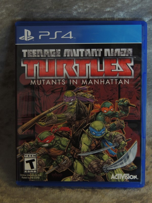 Playstation 4 Teenage Mutant Ninja Turtles TMNT PS4 Game Mutants in Manhatten EX