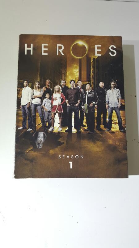 Heroes Season 1 on DVD