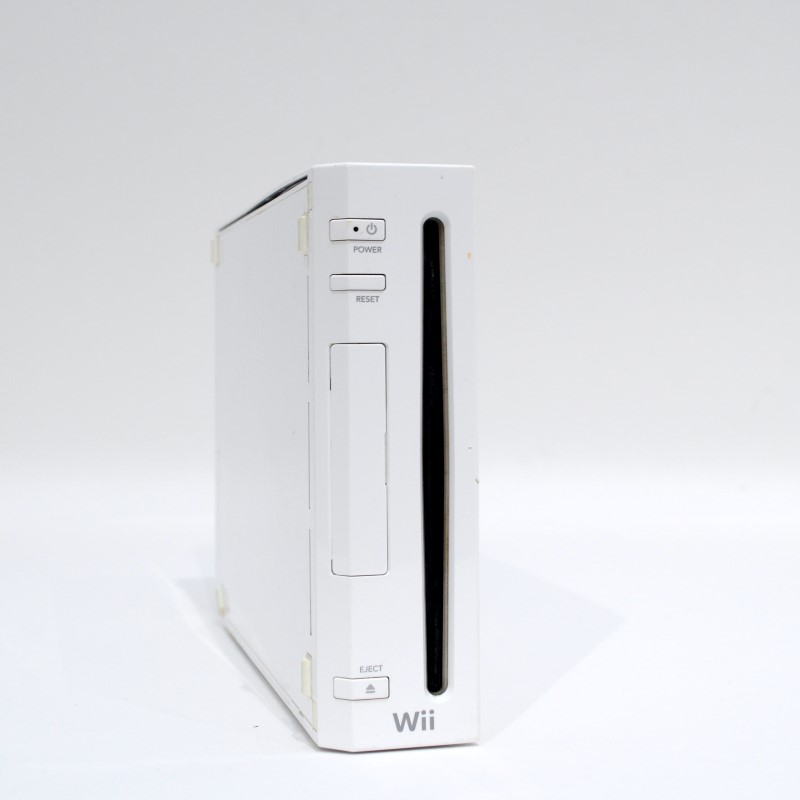 Nintendo Wii RVL-001 Home Video Game Console (White) Bundle >