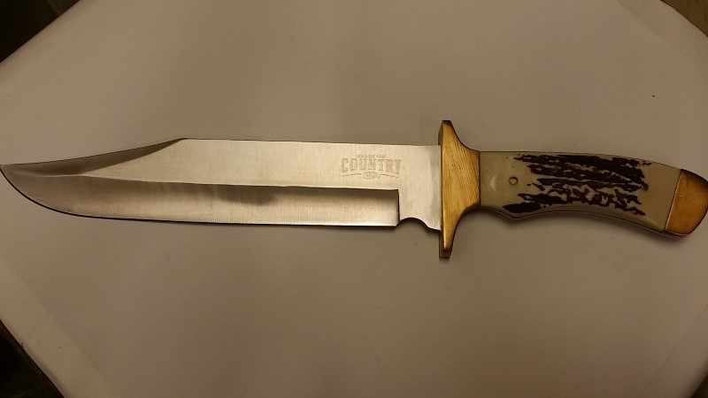 BREAK UP COUNTRY BOWIE COMBAT KNIFE 9""