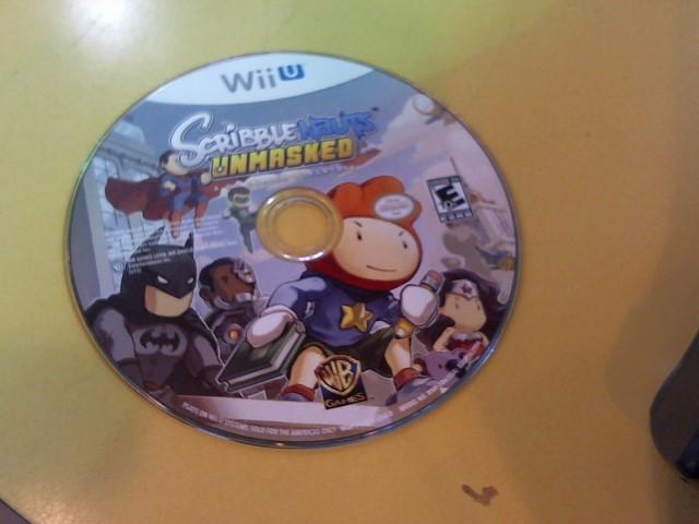 NINTENDO Nintendo Wii U Game WII U SCRIBBLENAUTS UNMASKED