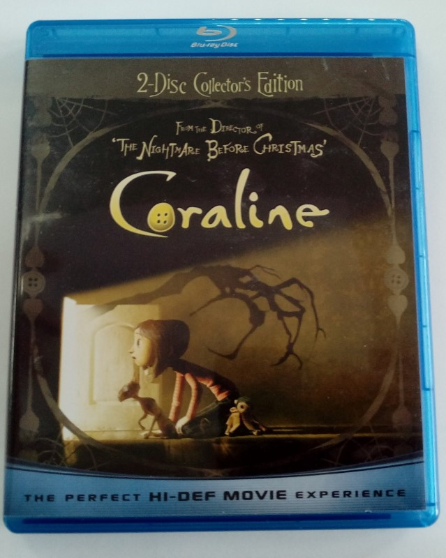 BLU-RAY MOVIE CORALINE
