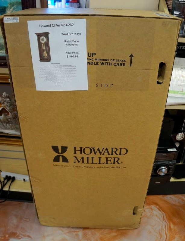 HOWARD MILLER Clock 620-262