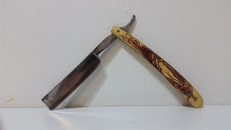 Lafayette Cutlery Co Straight Razor Made in Germany