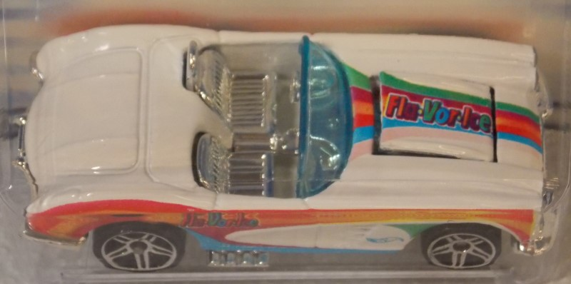 HOT WHEELS FLA-VOR-ICE: '58 CORVETTE AND SUPER TSUNAMI
