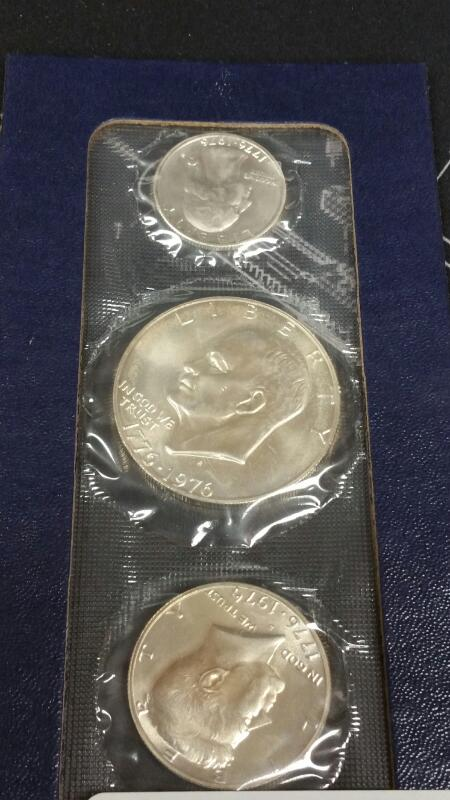 UNITED STATES Silver Coin 1776-1976 BICENTENNIAL SILVER PROOF SET