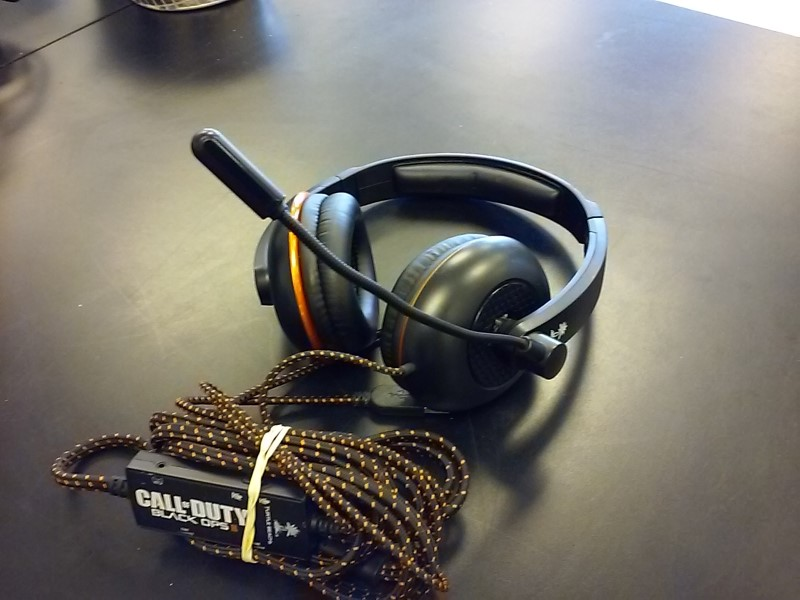 TURTLE BEACH Headphones EAR FORCE KILO CALL OF DUT BLACK OPS II HEADSET