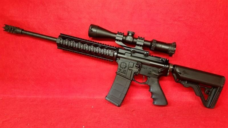 SAA Custom AR Rifle 300BLK - Burris E1 3-9x Scope - Timney Trigger