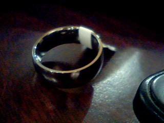 Gent's Ring Silver Titanium 4.6g