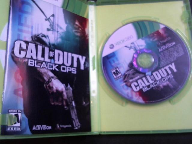 MICROSOFT Microsoft XBOX 360 Game CALL OF DUTY BLACK OPS - XBOX 360