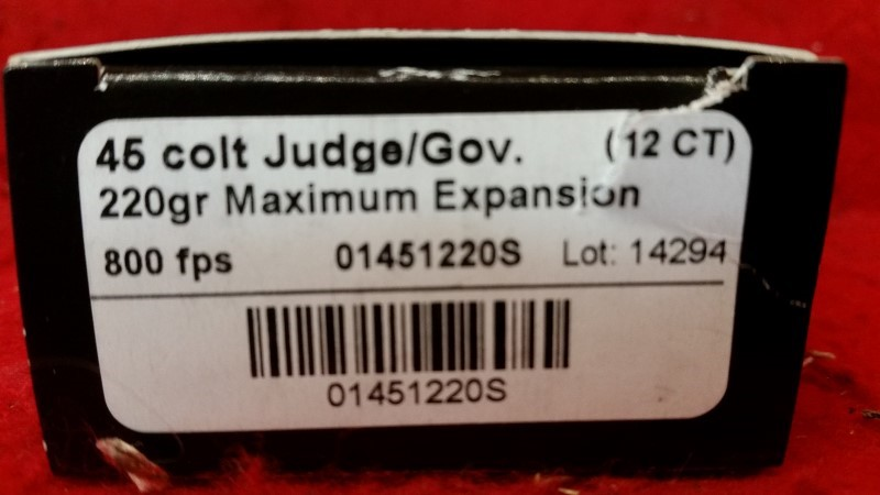 Lehigh Defense 45 Colt 220gr Maximum Expansion #14294