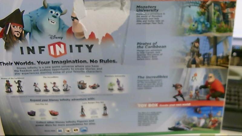 Microsoft Xbox 360 Disney Infinity Game and Figures