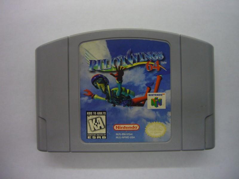 NINTENDO 64 Game PILOTWINGS *CARTRIDGE ONLY*