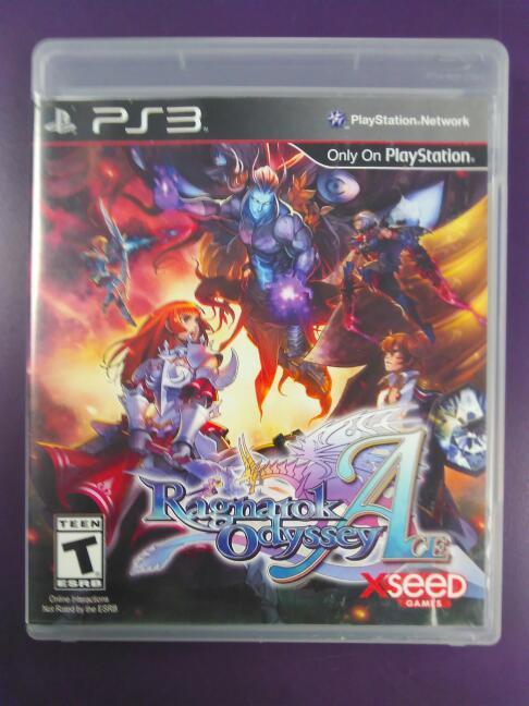 Ragnarock Odyessy Ace (Sony Playstation 3, 2012)